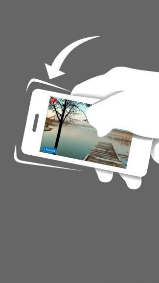 BLUSH - Drehe dein Telefon und verändere das Layout