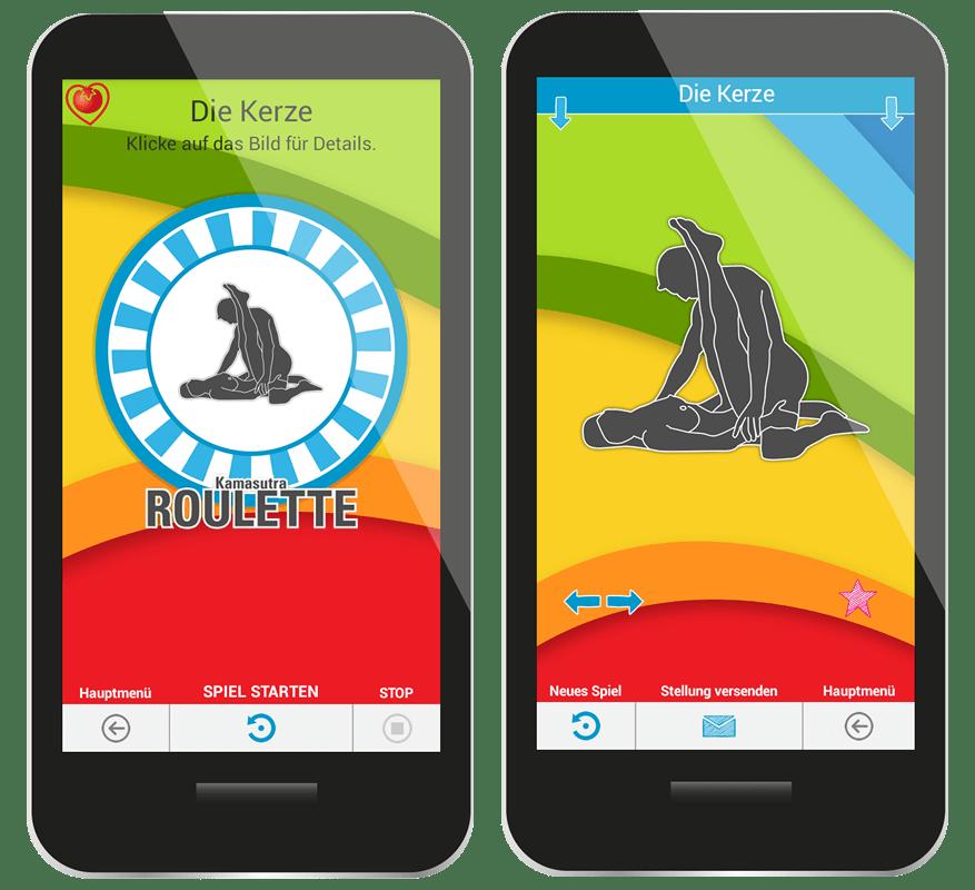 BLUSH - Kamasutra App, Kamasutra Roulette, Sex Roulette